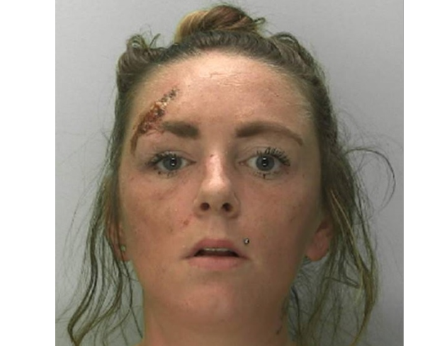 , Stonehouse woman Charmaine Coulson, thrity four, jailed for robbery